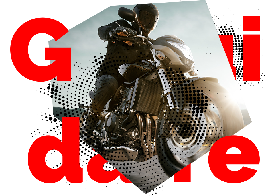 Guidare una moto